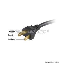 h4651 headlight socket wiring diagram [ 2000 x 2000 Pixel ]