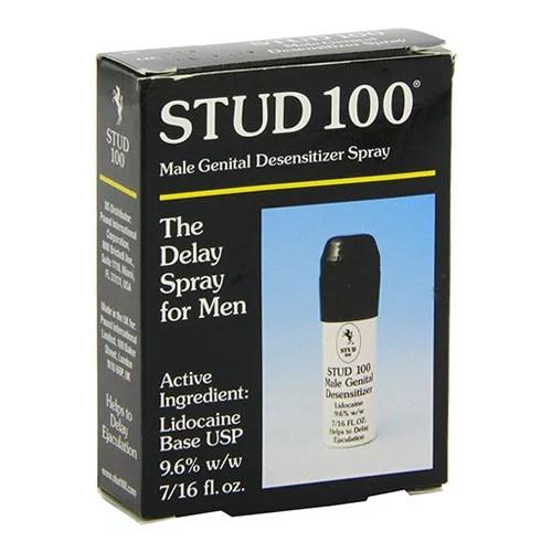Stud 100 Desensitizing Spray For Men - 12 Gm 3 Packs ...