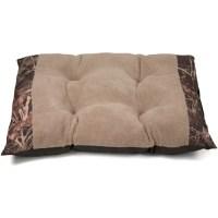 "Soft Spot Tufted Camo Plush Dog Bed, 39""L x 43""W - Walmart.com"