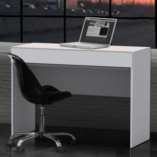 Nexera Blvd Desk  White  Walmartcom