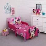 Disney 4 Piece Minnie Mouse Toddler Bedding Set Walmart Com Walmart Com
