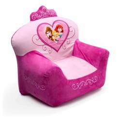 Princess Bean Bag Chair Portable Wheel Ramp Disney Doc Mcstuffins Toddler Sofa Multi