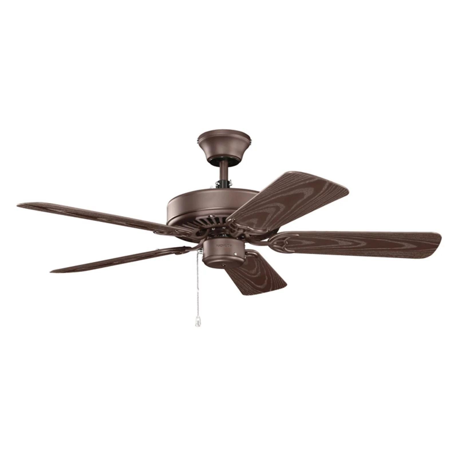 hight resolution of kichler basics patio revisited 42 in indoor outdoor ceiling fan walmart com