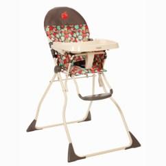 Fold Out Chairs Walmart Basketball Chair For Kids Cosco Flat High Chair, Apple Pie - Walmart.com