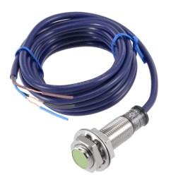 2mm inductive proximity sensor switch npn no dc 6 36v 200ma 3 wire pr12 2dn walmart com [ 1100 x 1100 Pixel ]