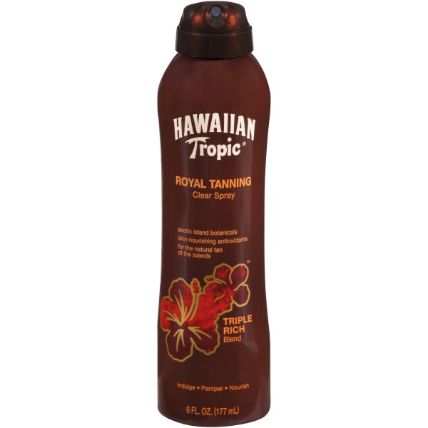 Hawaiian Tropic Dark Tanning Lotion Spf 4 - 8 Ounces