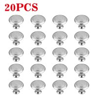 20Pack of Kitchen Cabinet Knobs,1 3/16 in 30 mm,Brushed ...