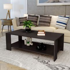 Black Living Room Tables Colors To Paint Your Coffee Walmart Com Product Image Ktaxon End Table Rectangle Tea Sofa Furniture White