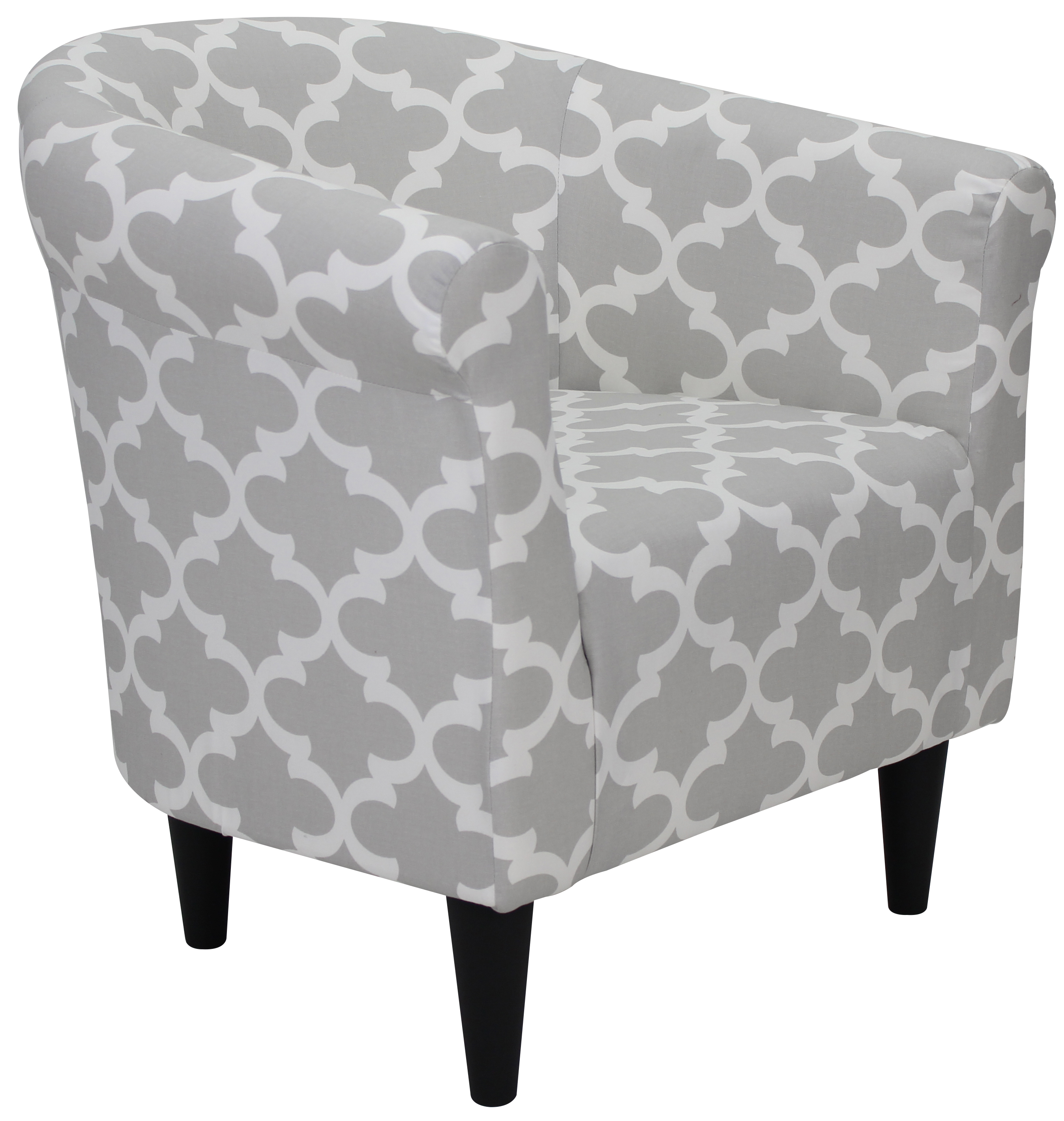 bedroom club chair acrylic clear mainstays bucket accent walmart com