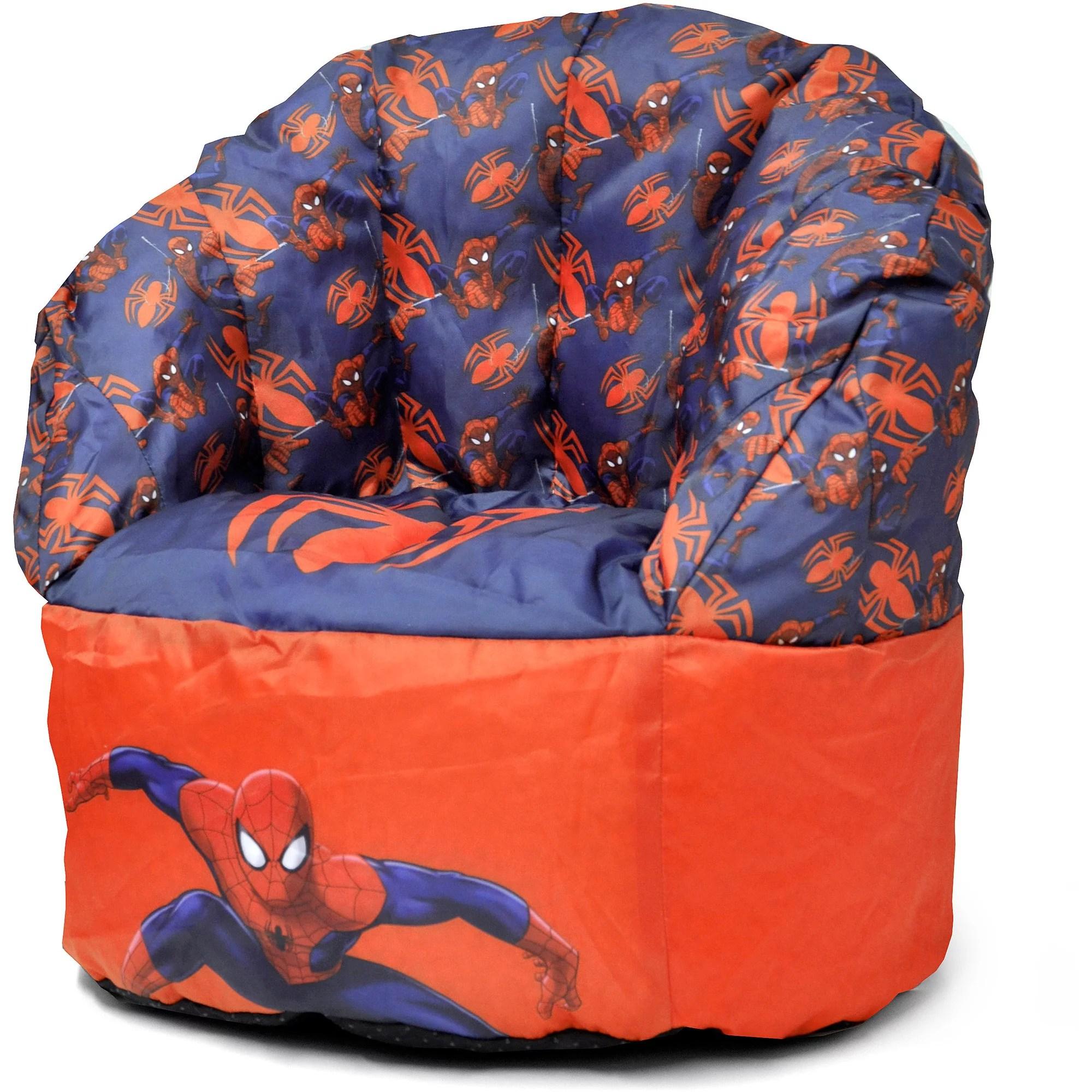 avengers bean bag chair tall office chairs uk marvel spider man walmart com