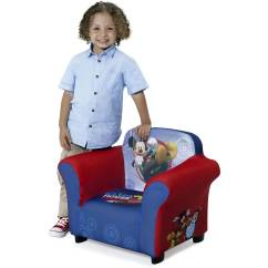 Mickey Mouse Clubhouse Chair Safety In Design Nsw Disney Kids Upholstered With Sculpted Plastic Frame By Delta Children Walmart Com