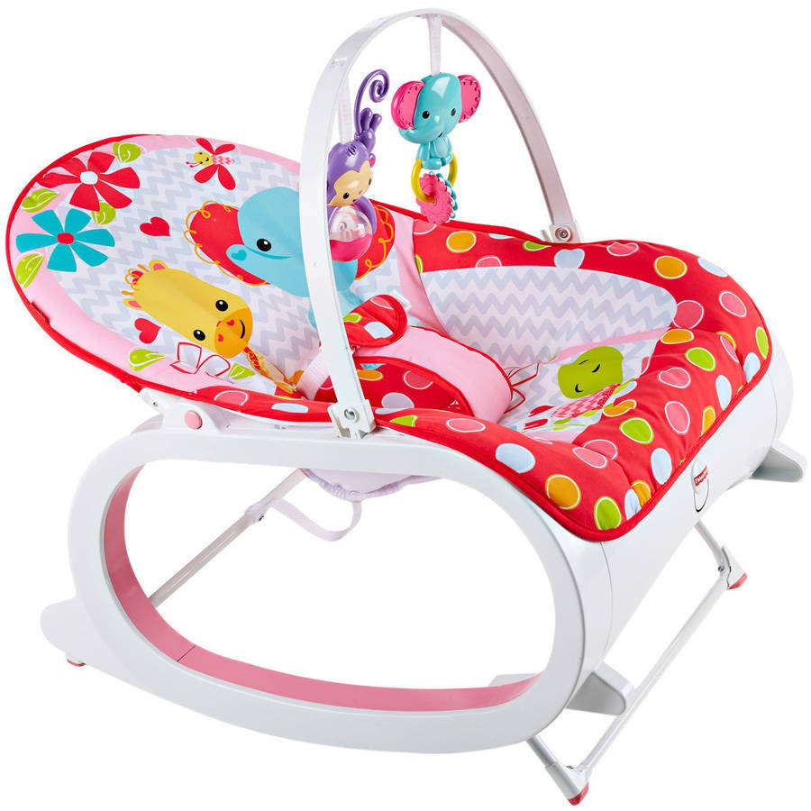 Fisher Price InfantToToddler Rocker Baby Seat Bouncer
