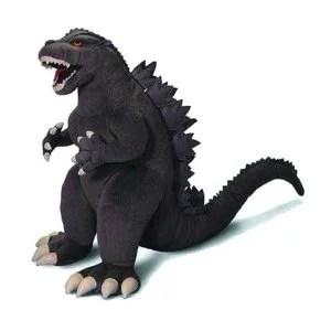 Godzilla New Design 15 Inch Plush Toy MultiColored