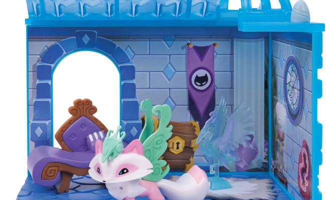 Animal Jam Crystal Palace With Exclusive Figure Walmart