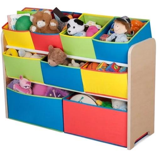 Delta Children Deluxe Multi Bin Toy Organizer With Storage