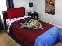 4pc DC Comics Wonder Woman Twin Bedding Set Themyscira