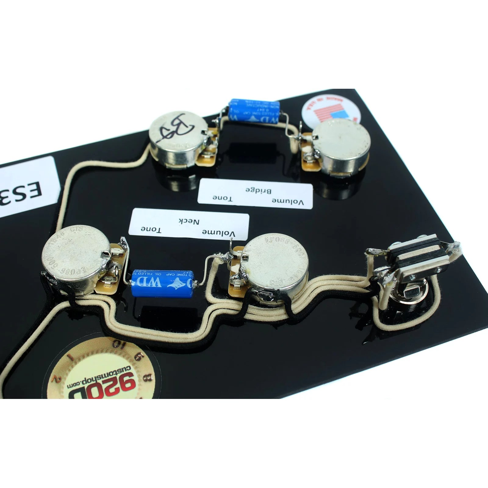 hight resolution of gibson 5039s style upgrade wiring harness vintage 022uf pio russian es 335 wiring harness sg wiring