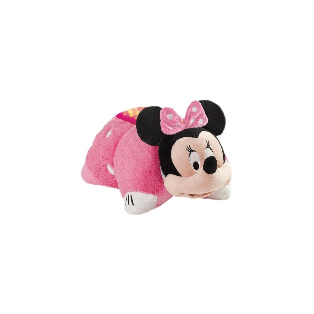 pillow pets disney dream lites minnie mouse stuffed animal plush toy
