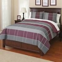 Canopy Grid Bedding Comforter Set - Walmart.com