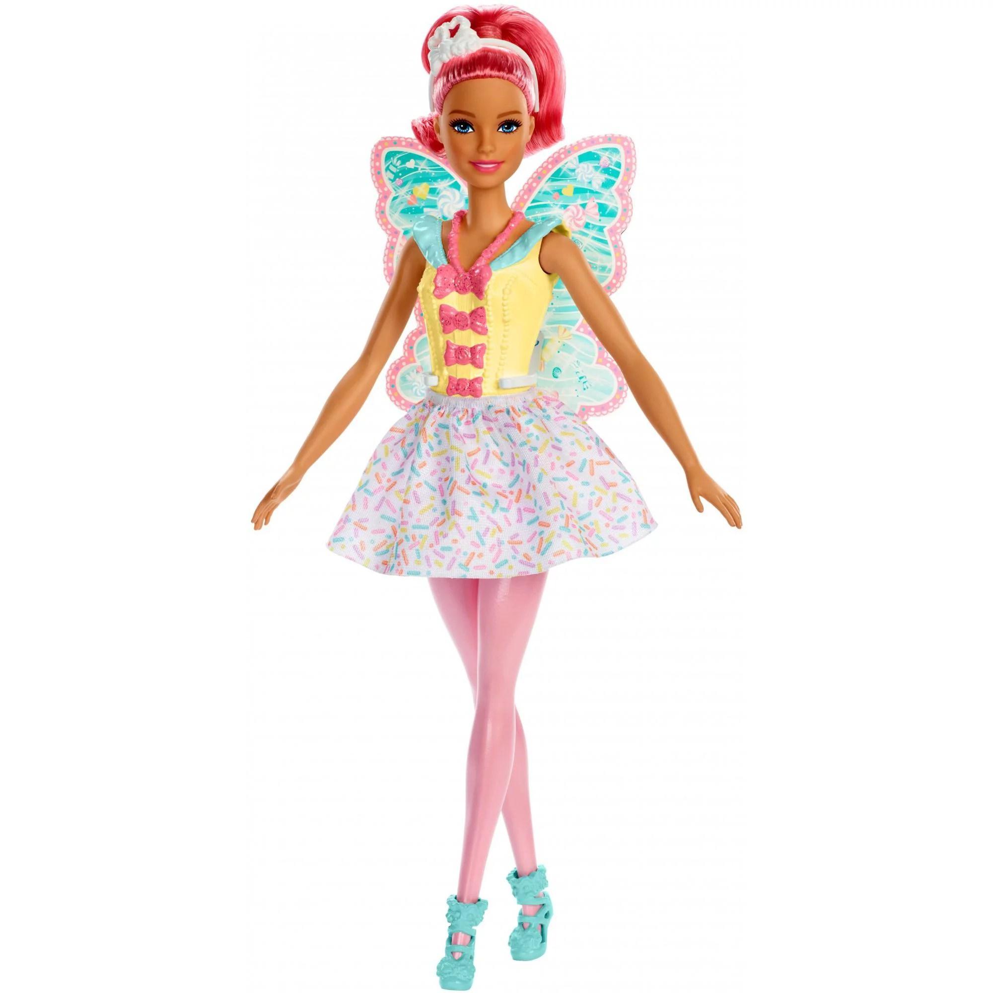 barbie dreamtopia fairy doll pink