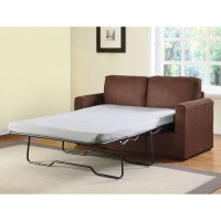 Craigg Sofa with Twin Sleeper, Chocolate - Walmart.com