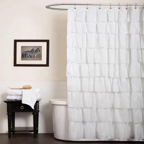 Ruffle Shower Curtain Walmart Com