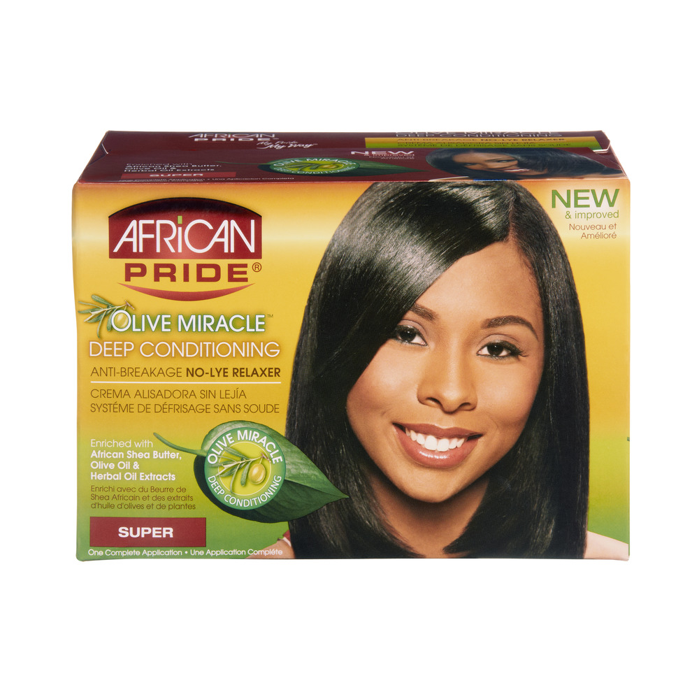 African Pride Olive Miracle Super Deep Conditioning Anti