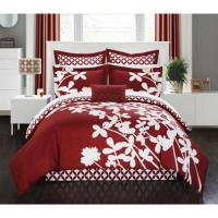 Chic Home Ayesha Red Reversible 7-piece Comforter Set ...