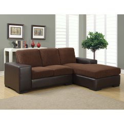 Brown Fabric Sofa Big Lots Outdoor Sectional Monarch Specialties Sheffield Leather And Lounger Walmart Com
