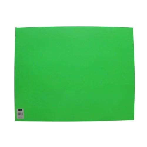 ucreate neon green poster board paper 22 x 28 single sheet