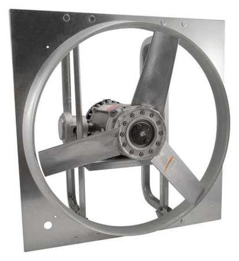 dayton 10e007 exhaust fan 24 in 3 phase haz location