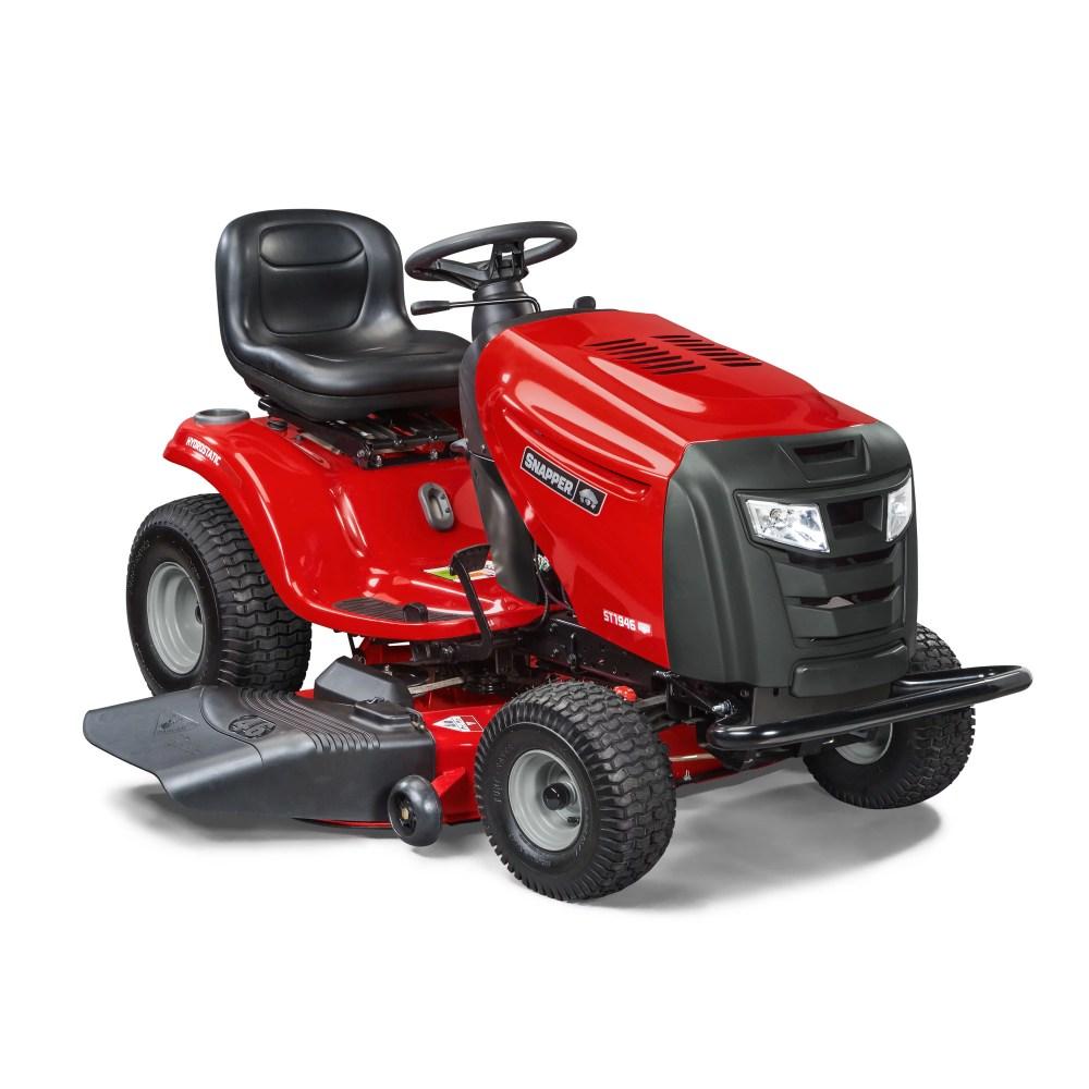 medium resolution of 19 hp briggs stratton riding lawn tractor st1946 walmart com