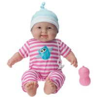 "JC Toys My Sweet Love 20"" Baby Doll, Pink Onesie - Walmart.com"