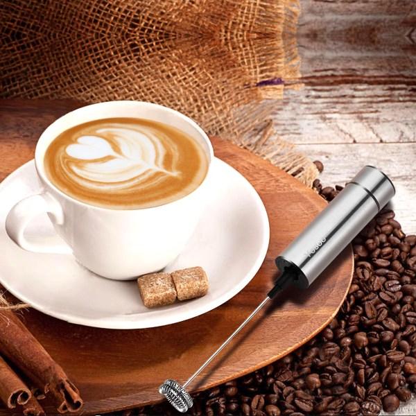 Yosoo Coffee Stainless Steel Handheld Double Spring