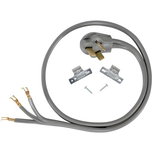 small resolution of certified appliance accessories 90 1052 3 wire open eyelet 40 amp range cord 5ft