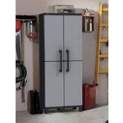 Keter Space Winner Resin Storage, Plastic Utility Cabinet