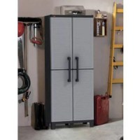 Keter Space Winner Resin Storage, Plastic Utility Cabinet