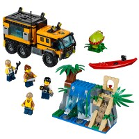 LEGO City Jungle Explorers Jungle Mobile Lab 60160 ...