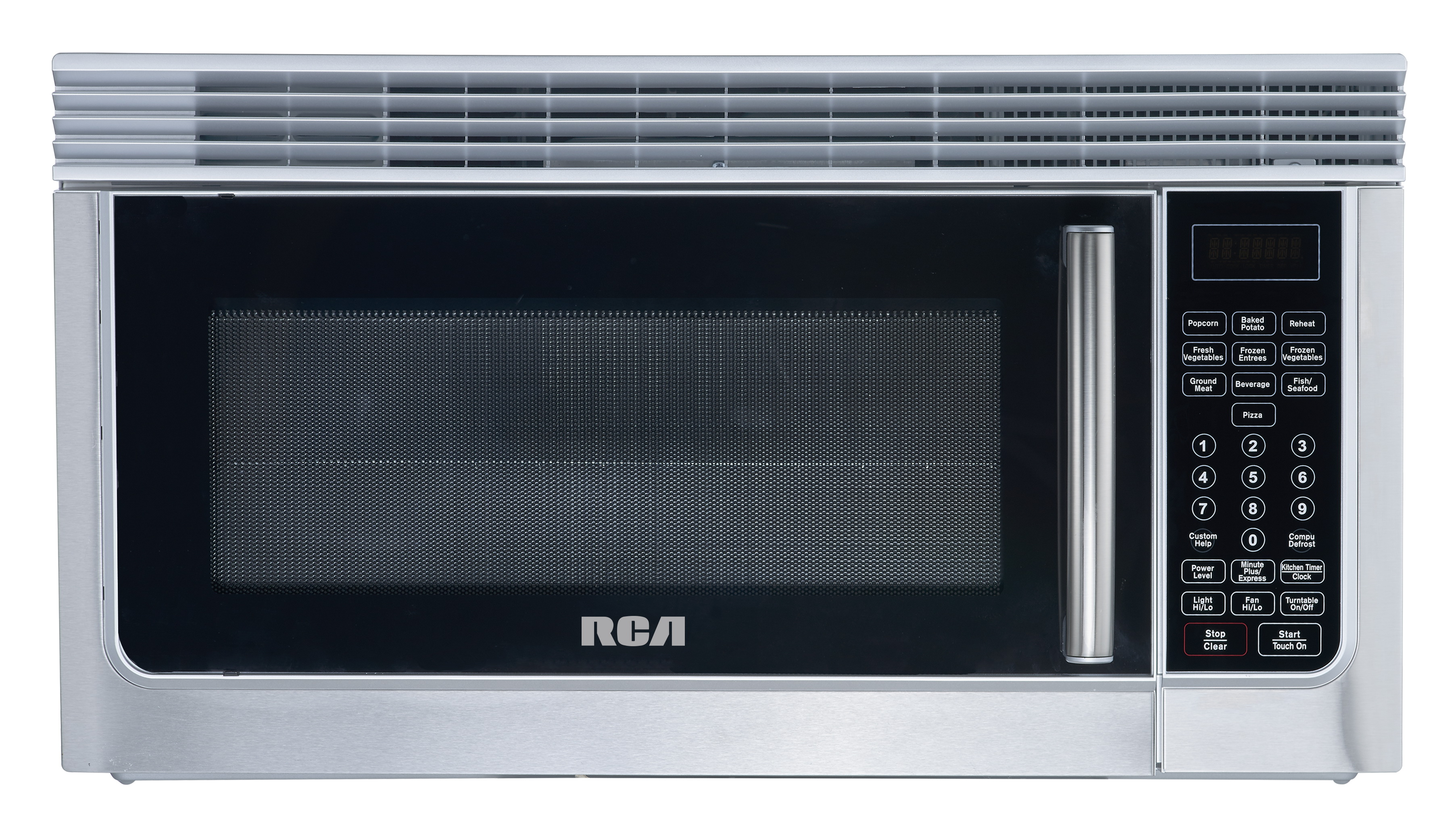 rca 1 6 cu ft over the range microwave oven stainless steel rmw1636ss