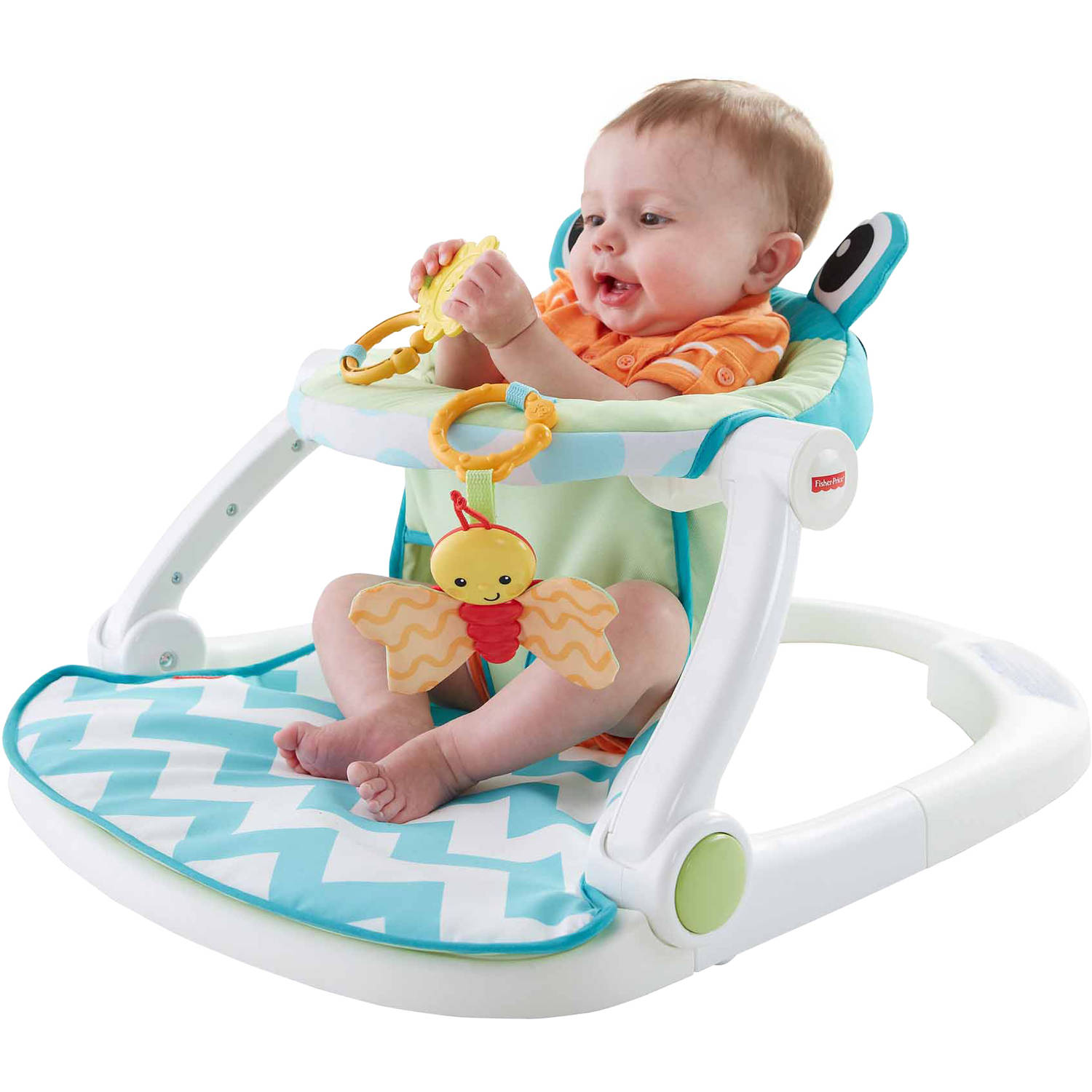 Deluxe Baby Floor Seat Activity Center Portable Chair Pad