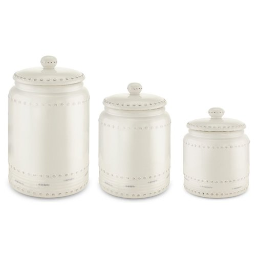 kitchen canister furniture for small kovot ceramic 3 piece set