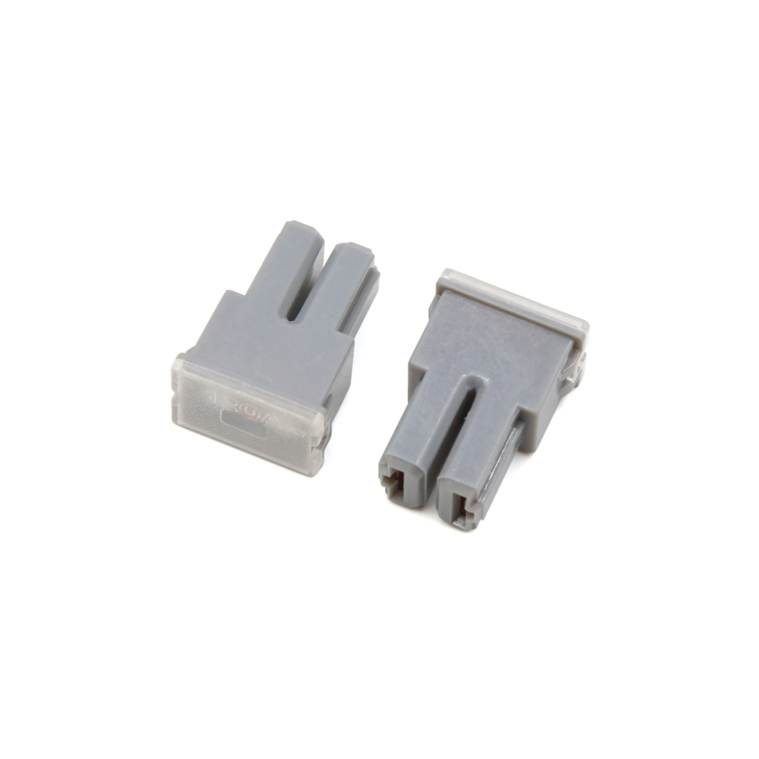 medium resolution of 2pcs 32v 120a gray mini vehicle car female pal cartridge circuit breaker fuse