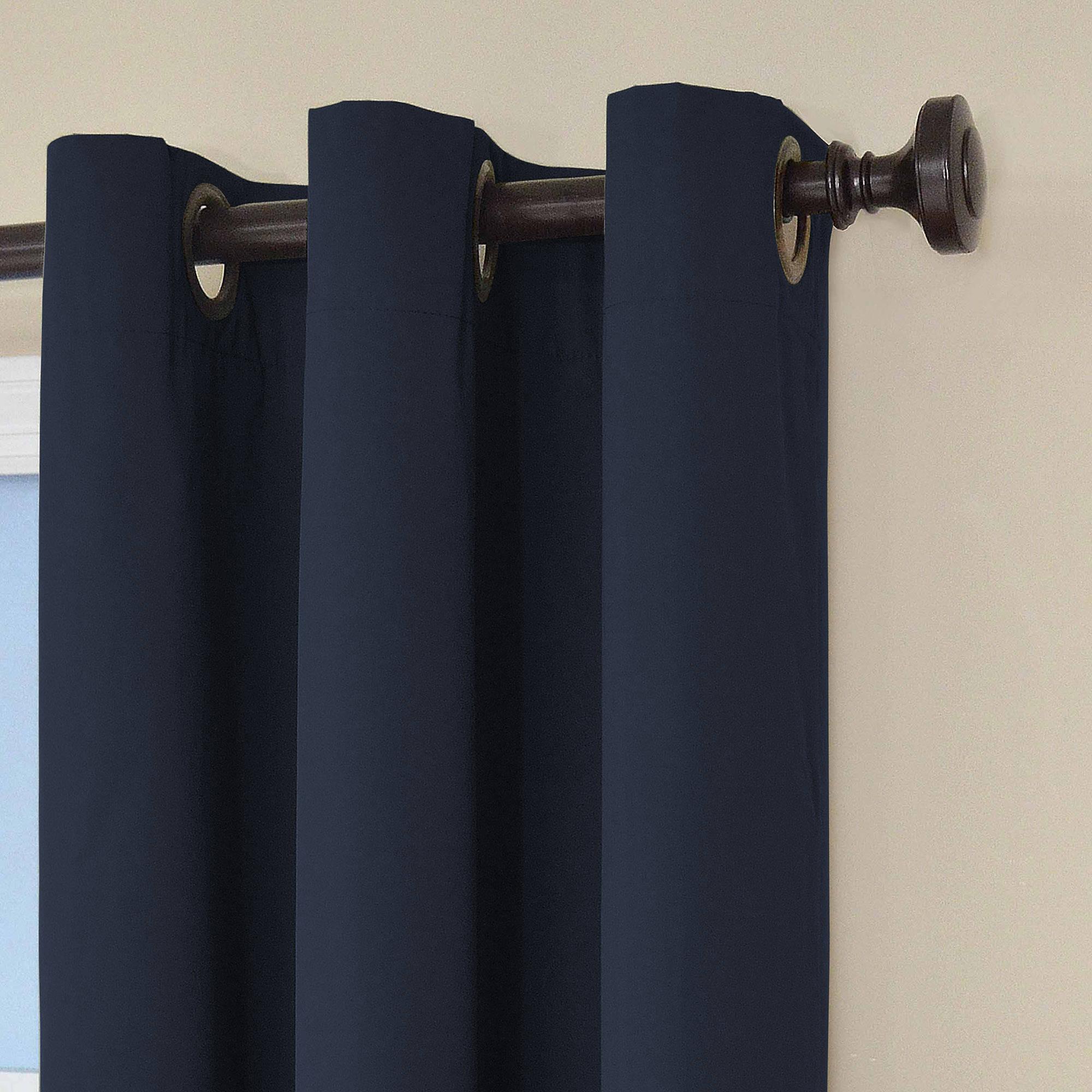 Eclipse Curtains Microfiber Grommet Blackout Energy Efficient