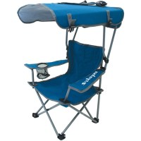 Kelsyus Kids Canopy Chair Blue Gray - Walmart.com