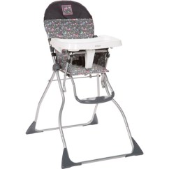 How To Fold Up A Cosco High Chair Diy Dining Room Upholstery Flat Bird On Wire Walmart Com