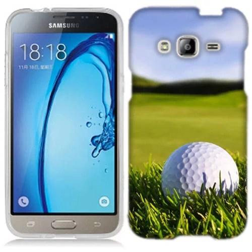 Mundaze Golf Course Phone Case Cover for Samsung Galaxy J3