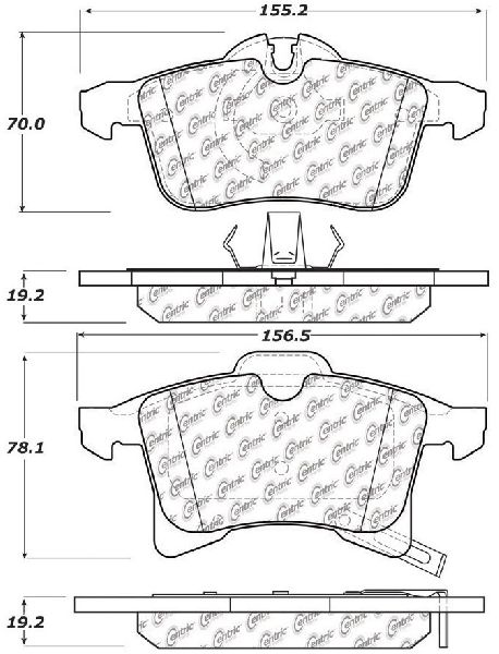 Go-Parts OE Replacement for 2006-2006 Chevrolet Zafira