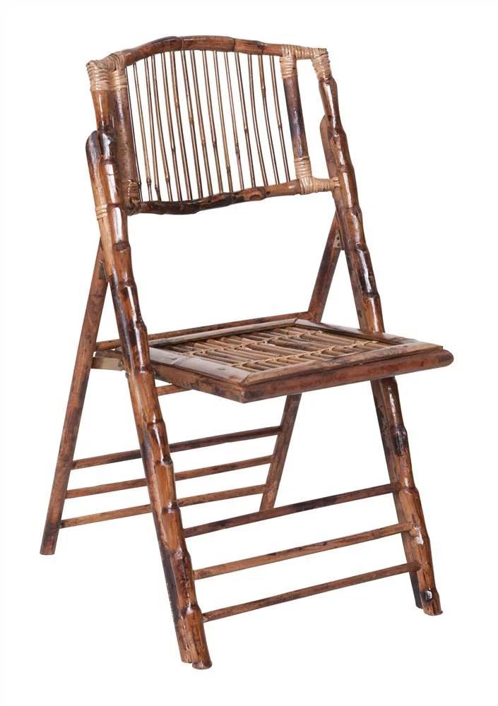 bamboo folding chair ergonomic how to adjust set of 4 walmart com