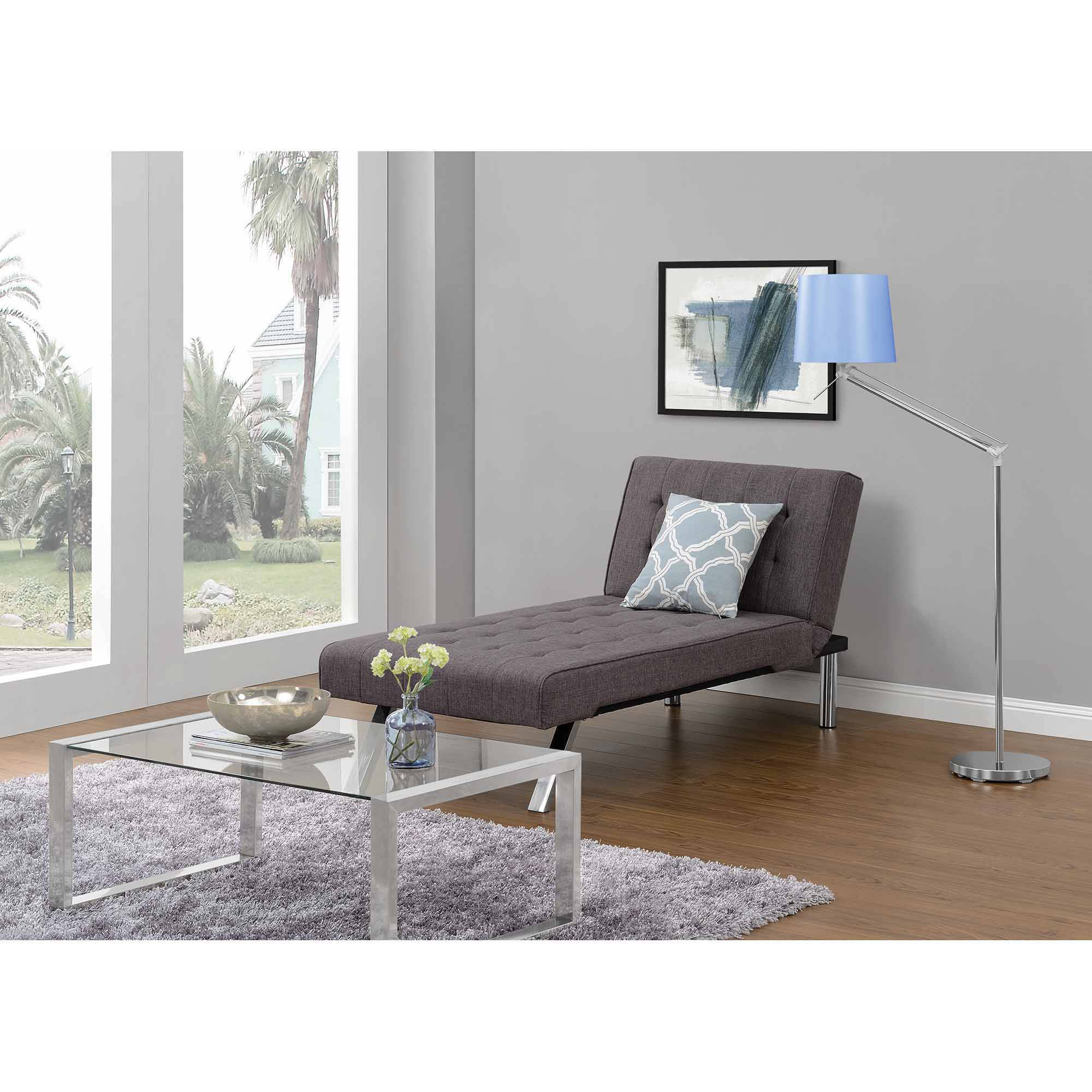 Emily Futon Chaise Lounger, Multiple Colors Walmartcom