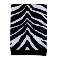 Creative Bath Products, Inc. Zebra Print Bathroom Set ...